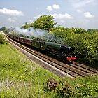 A3 Class 60103 Flying Scotsman Steam Locomotive by Andrew Harker