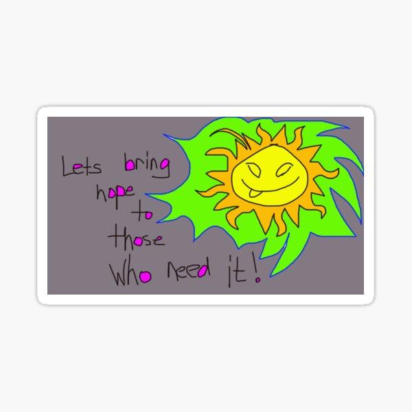 Sundialing Sticker