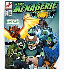 The Mighty Menagerie Poster