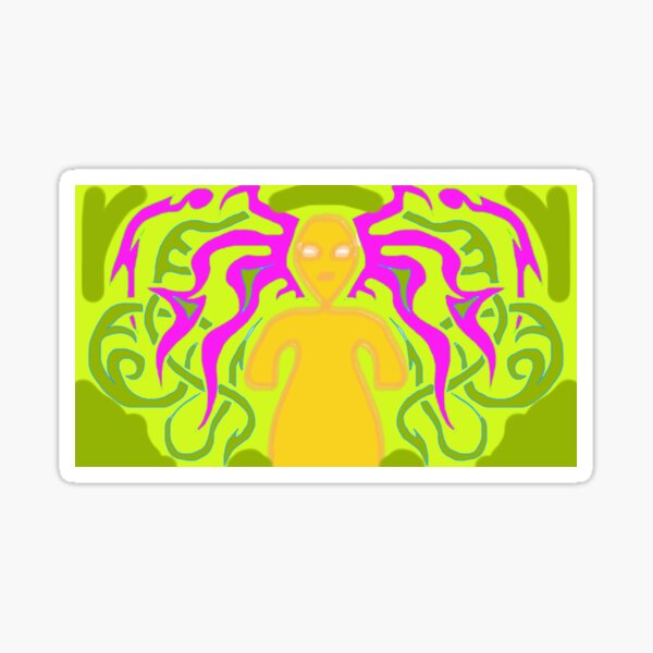 Witchy at you Sticker