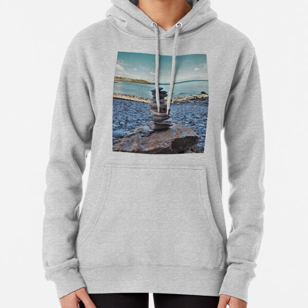 Second Valley rock stack Pullover Hoodie
