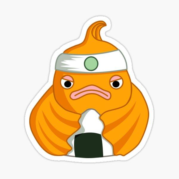 Der fantastische Onigiri Goldfisch Sticker
