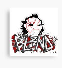 DJ blend Canvas Print