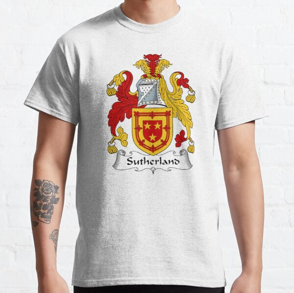 Sutherland Coat of Arms / Sutherland Family Crest Classic T-Shirt