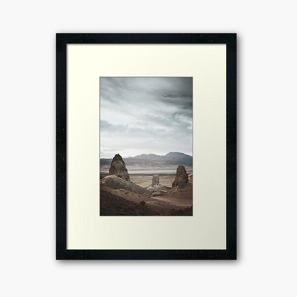 The Trona Pinnacles Framed Art Print