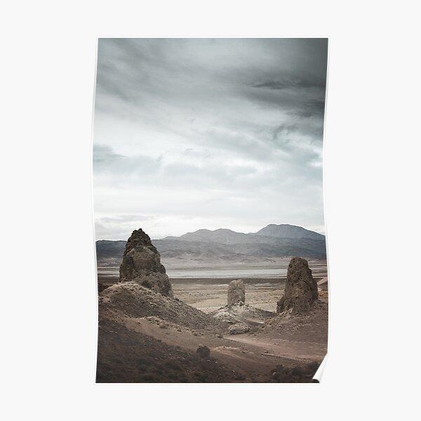 The Trona Pinnacles Poster