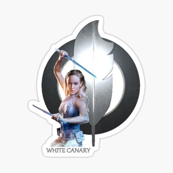 White Canary Sticker