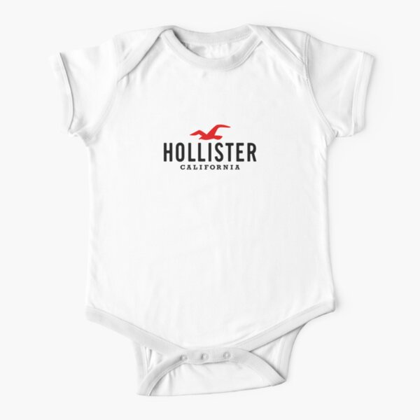 Hollister California Body de manga corta para bebé