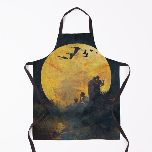 Singing Up the Moon Apron