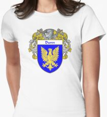 Dunn Coat of Arms/Family Crest Womens Fitted T-Shirt