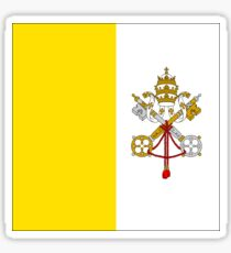 Vatican City Flag Products Sticker