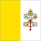 Vatican City Flag Products by Mark Podger