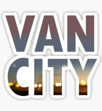 VanCity image within text Sticker