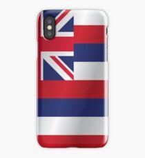 Hawaii flag iPhone Case