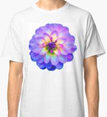Purple Blooming Flower Classic T-Shirt