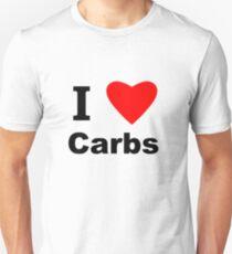 I Love Carbs Unisex T-Shirt