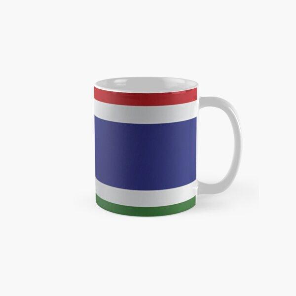 Gambia flag Classic Mug