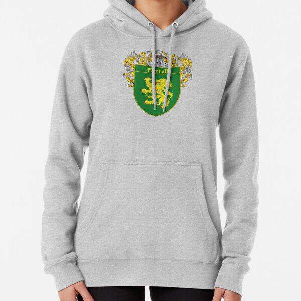 Farrell Coat of Arms/Family Crest Pullover Hoodie