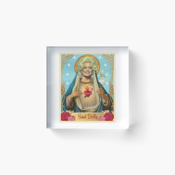 saint dolly parton Acrylic Block