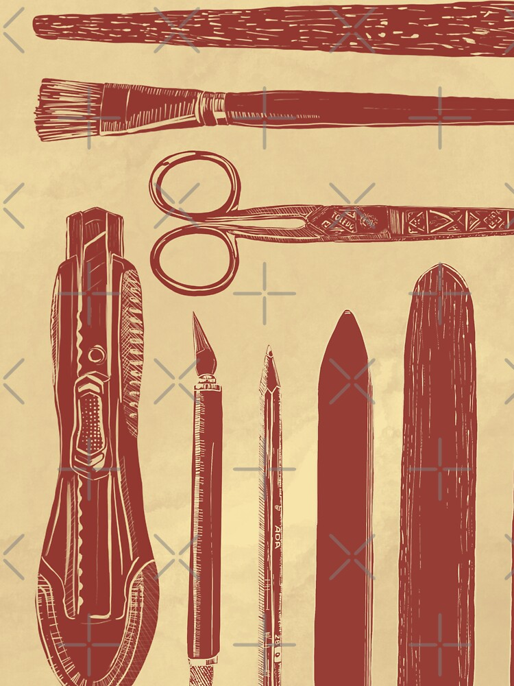 bookbinding tools by adarovai