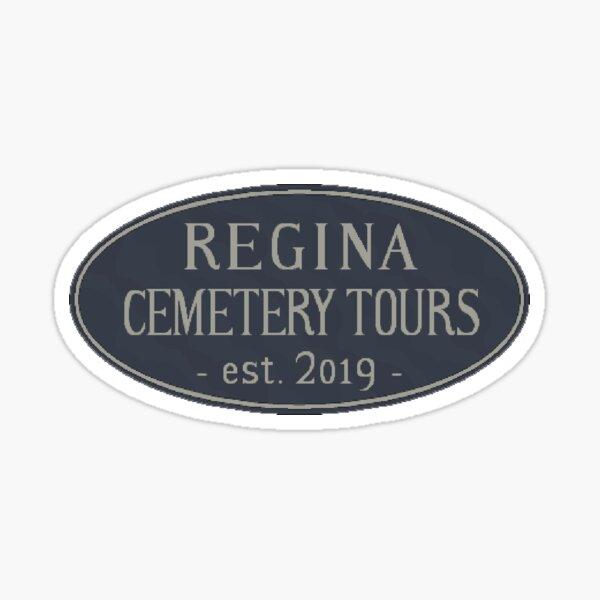 Logo | Regina Cemetery Tours - The Game Sticker