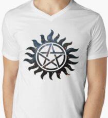 Übernatürliche Galaxie T-Shirt mit V-Ausschnitt