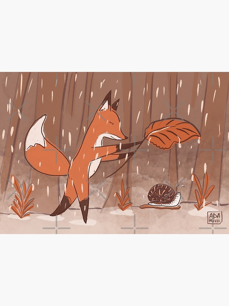 The fox and the snail by adarovai