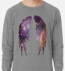 Angel Pink Galaxy Wings Lightweight Sweatshirt