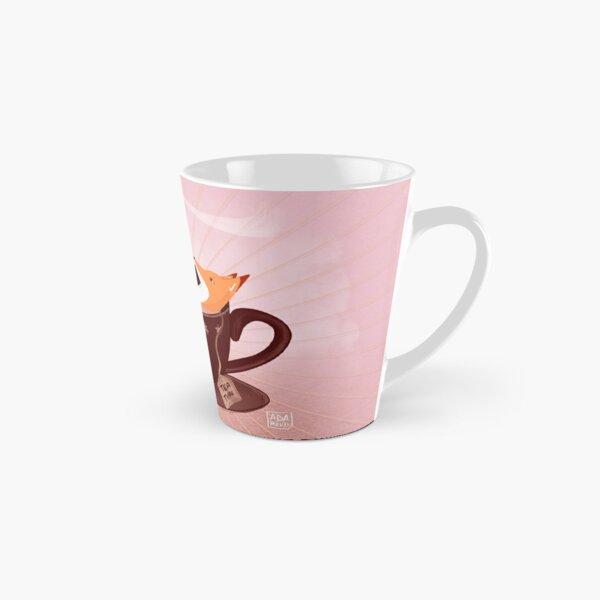Fox tea time Tall Mug