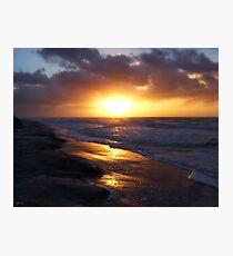 Sunrise Over Atlantic Ocean Photographic Print