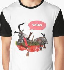 Goats in a Boat Graphic T-Shirt
