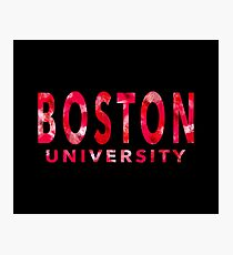 Boston University Photographic Print