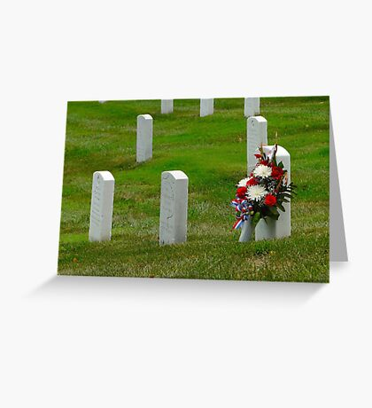 A Floral Tribute - Arlington Greeting Card