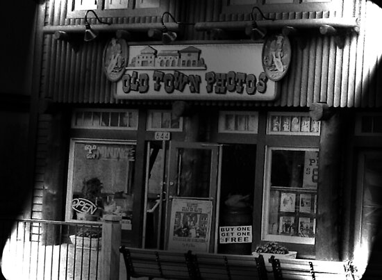"""Gatlinburg, Tennessee, Series, #5... The Old Timey Photo Shop, 5th Picture of Series #5""... prints and products by Bob Hall©"