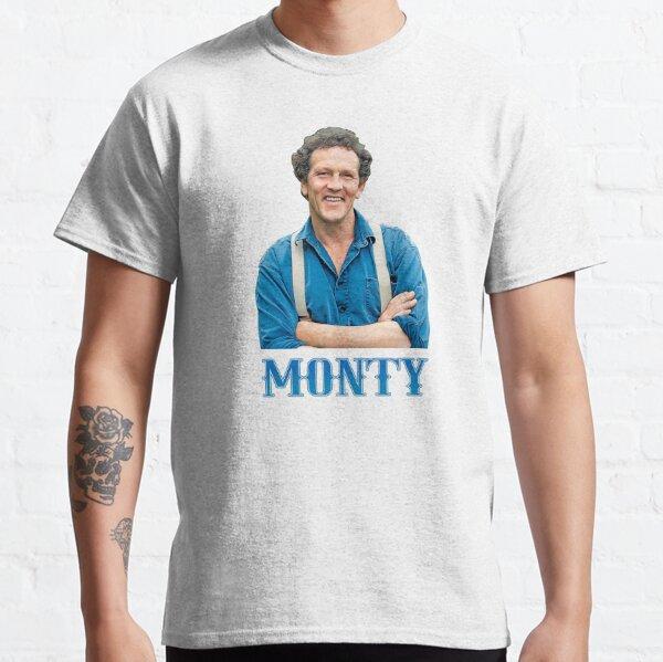 Illustration Pop Art Monty Don TV Presenter Gardener Classic T-Shirt