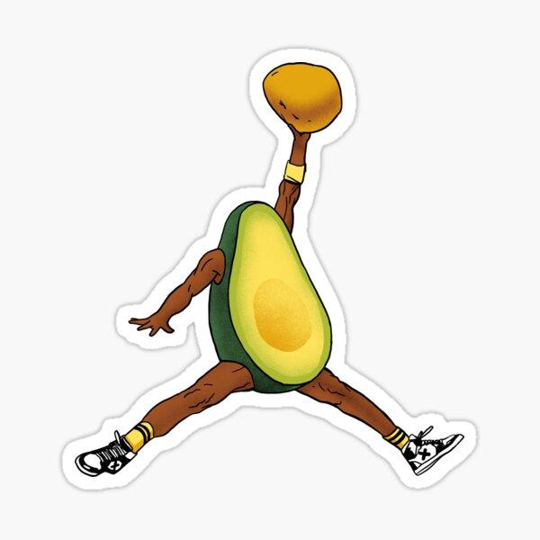 air avocado Sticker