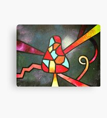 Space Shroom Canvas Print