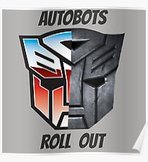 Autobots Poster
