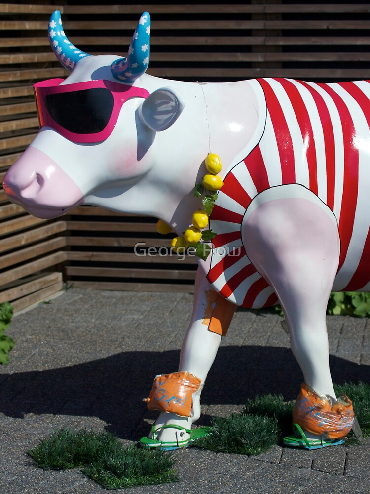 Painted Cow on Holiday - at Floriade by VeryIreland