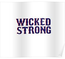 Quot Wicked Strong Quot Stickers By Feliciasdesigns Redbubble