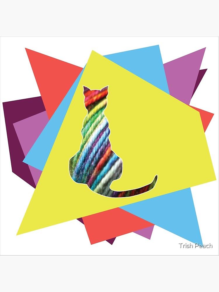Yarn cat by friskodisko