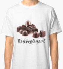 Chocolate Struggle Classic T-Shirt