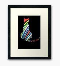 Yarn Cat Framed Print