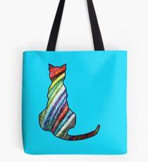 Yarn Cat Tote Bag
