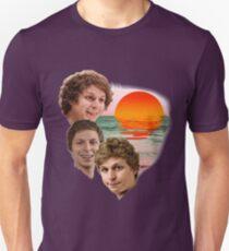 3 Cera Sunset Unisex T-Shirt