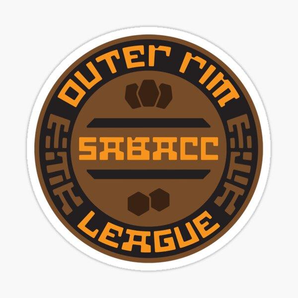 Outer Rim Sabacc League Sticker