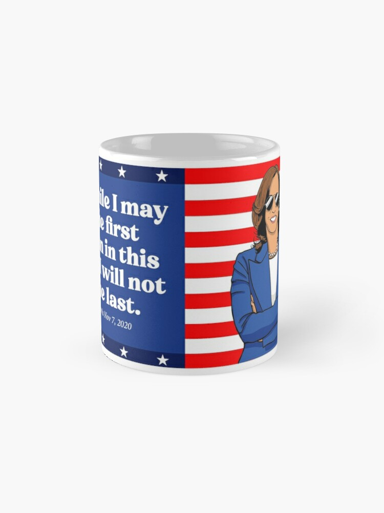 Alternate view of First But Not Last Mug