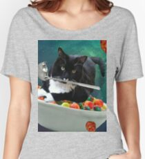 cereal cat Women's Relaxed Fit T-Shirt