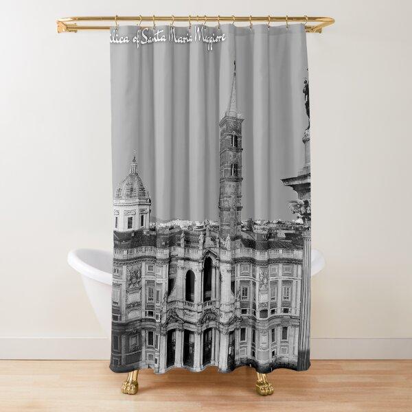 Basilica of Santa Maria Maggiore Shower Curtain