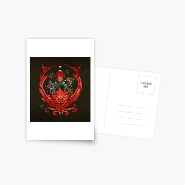 The Glorantha Sourcebook Cover by Jon Hodgson Postcard